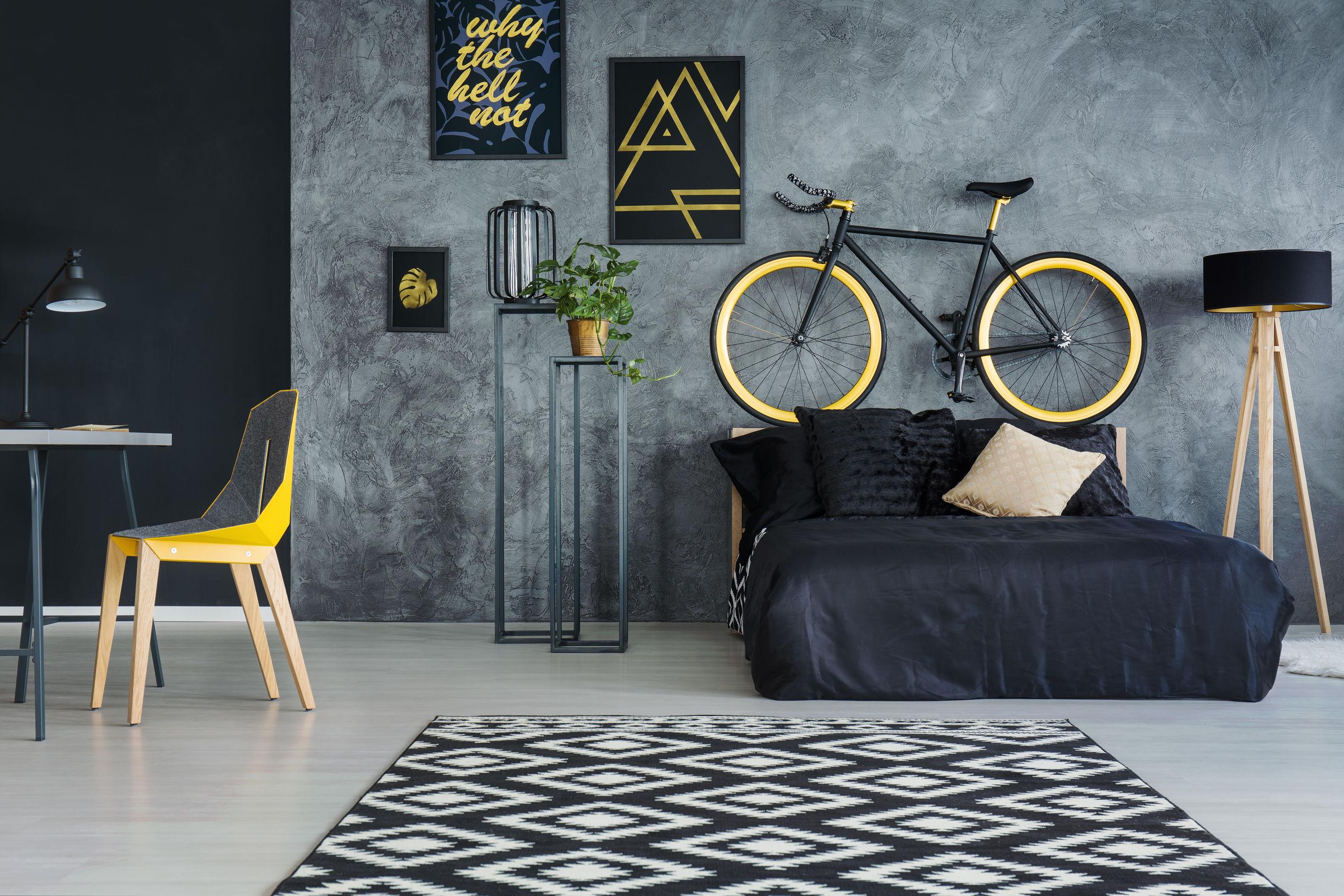 Article utilisation sombre et noir en décoration intérieure