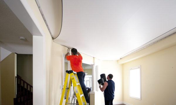 Faux plafond tendu : quels sont les avantages ?