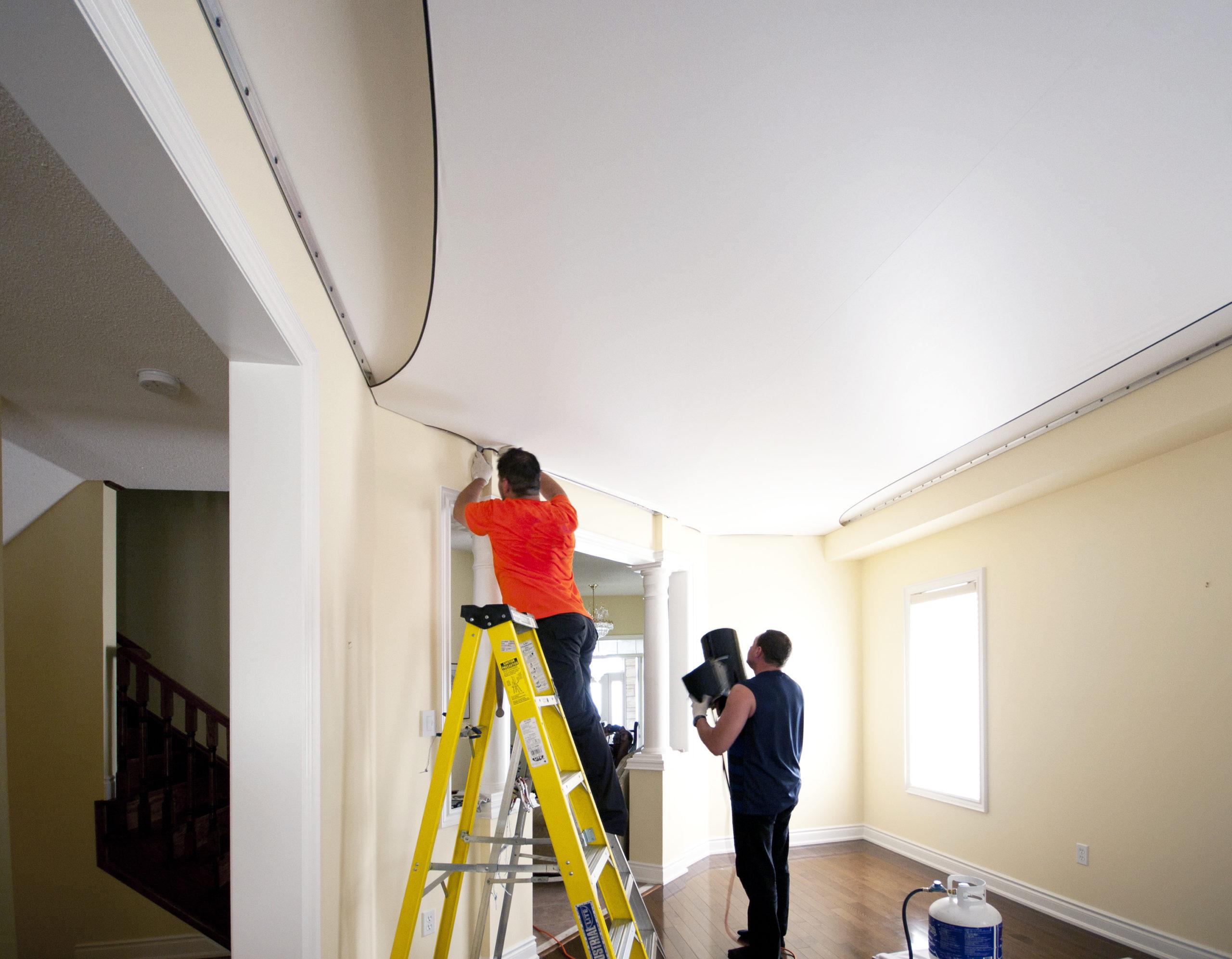 Les avantages d'un faux plafond tendu